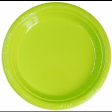 PVC접시라임그린