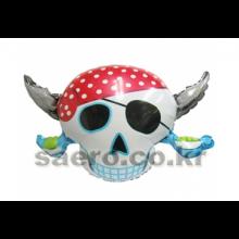라지쉐잎 해적파티해골