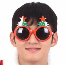 별트리안경 크리스마스 트리 모양 파티안경 파티소품 웃긴안경