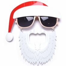 산타수염안경 크리마스마스 산타클로스 수염 코믹 파티소품안경