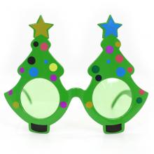 트리안경(화이트) 크리스마스 파티 패션 소품