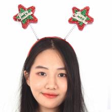 크리스마스머리띠(별) 크리스마스 헤어밴드 머리띠
