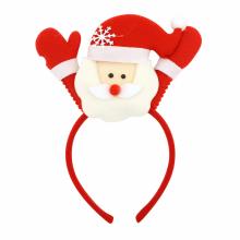 설정산타인형머리띠 크리스마스