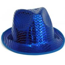 페도라모자 블루