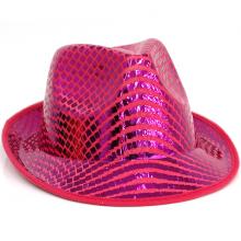 페도라모자 핑크
