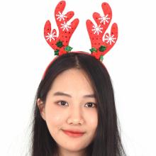 스팡클설정루돌프머리띠 크리스마스 사슴 뿔 머리띠