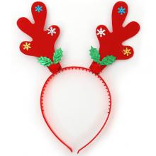 루돌프머리띠(설정) ★ 루돌프뿔 눈결정 크리스마스 파티의상소품 머리띠
