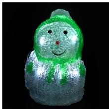 엘이디눈사람인형(그린) ★ 크리스마스 장식 불빛 눈사람장식 램프인형
