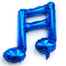 16분음표호일(블루) ★ 풍선장식 은박호일풍선 음악기호