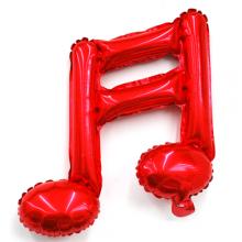 16분음표호일(레드) 풍선장식 은박호일풍선 음악기호