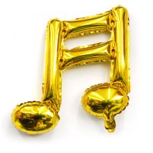 16분음표호일(골드) 풍선장식 은박호일풍선 음악기호