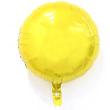 18인치원형옐로우은박 헬륨 호일 파티 용품 풍선 생일