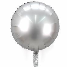 18인치원형사틴럭스플래티늄 은박 헬륨 호일 파티풍선
