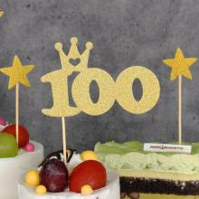 케익데코픽 100일 골드