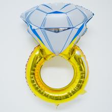 다이아몬드반지 은박풍선 프로포즈반지 헬륨풍선