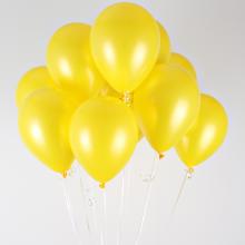 헬륨풍선(펄옐로우)[퀵배송]