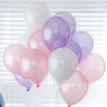 헬륨풍선 펄라벤더 계열 (퀵배송)