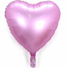 18인치하트사틴럭스플라밍고 은박 헬륨 호일 파티풍선