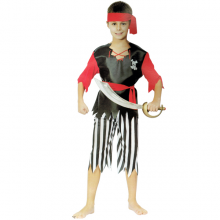해적의상남자아동 할로윈파티 캐리비안해적 아동의상