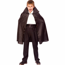 뱀파이어망토 블랙 할로윈 의상 드라큐라 아동 코스튬