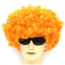 점보가발(오렌지) 파티가발 연극 무도회 퍼머가발
