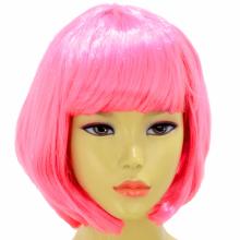 단발머리가발(핑크)