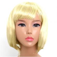 단발머리가발(금발)