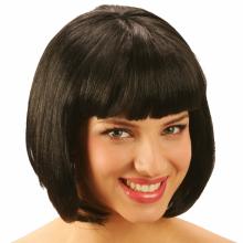 단발머리가발(블랙)