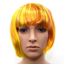 단발믹스가발(노랑)