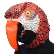 앵무새가면 고무가면 할로윈파티 이벤트 동물 가면