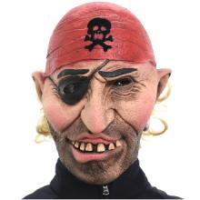 해적털보가면 고무가면 할로윈 코믹 공포 엽기 가면