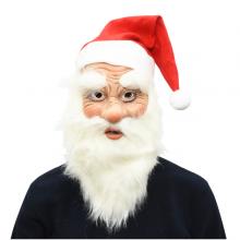 산타할아버지가면 할로윈파티 크리스마스 고무 가면