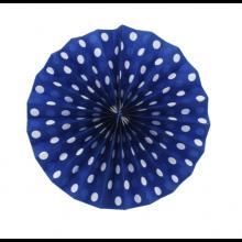 10인치도트프린트팬 블루 25.4cm 페이퍼벌룬