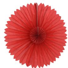 16인치티슈팬 레드 40.6cm 페이퍼벌룬 파티용품 생일