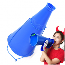 게임용메가폰(대)블루 확성기 체육대회 운동회응원 게임용품