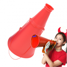 게임용메가폰(대)레드 확성기 체육대회 운동회응원 게임용품
