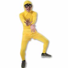 성인쫄쫄이의상대여 반바지세트 (옐로우) 스판 전신타이즈