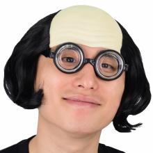★대여★ 대머리가발블랙