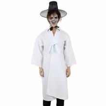 저승사자의상흰색 귀신공포 담력의상 흰색옷 흰색두루마기