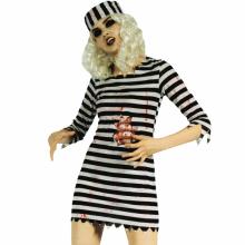 피묻은여자죄수복(성인) 할로윈의상 좀비 코스프레