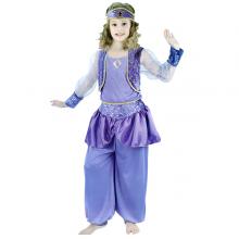 아랍소녀의상아동 할로윈파티 아랍민속 아동의상