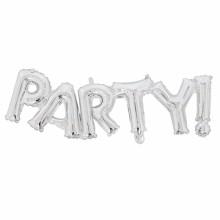 아나그램 라지쉐잎 파티실버 생일파티장식 이니셜 은박풍선