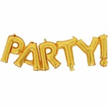 아나그램 라지쉐잎 파티골드 생일파티장식 이니셜 은박풍선