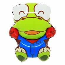 국산 라지쉐잎 크롱 은박호일 캐릭터풍선