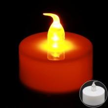 LED촛불 티라이트캔들 불꽃형웜(24개입) 전기초 전자초 엘이디초 프로포즈 이벤트용품