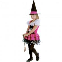 핑크프리티위치의상 파티 할로윈 공포 아동 코스튬