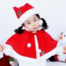 산타망토세트(영아/고급)영아산타복 아동산타의상