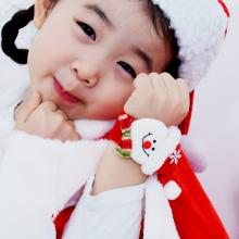 눈사람손목밴드 크리스마스 팔찌 의상 소품