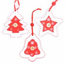 화이트우드(10x10) 크리스마스 트리 장식 데코 소품