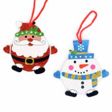 반짝이둥글장식(13x13) 크리스마스 트리장식 데코소품